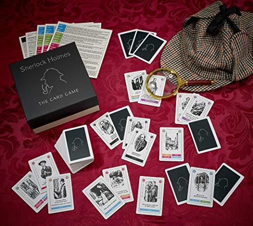 Gibsons Sherlock Holmes el Juego de Cartas: Amazon.es: Juguetes y ...