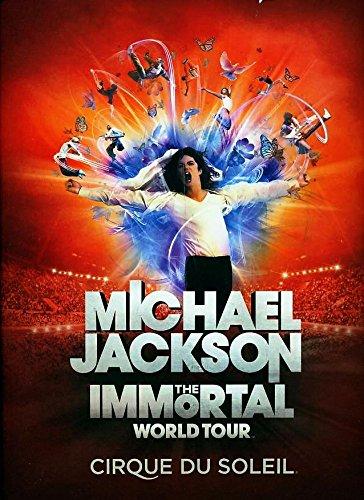 Michael Jackson THE IMMORTAL World Tour by Cirque du Soleil- Souvenir program