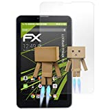 atFolix Bildschirmfolie kompatibel mit MPMan MPQCG77 Spiegelfolie, Spiegeleffekt FX Schutzfolie