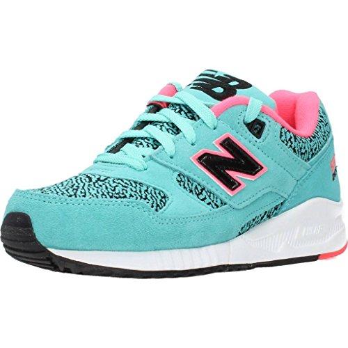 New Balance 530 Damen Schuhe Sneaker Turnschuhe Türkis W530KIB, Größenauswahl:37.5