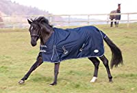Taped seams Rip stop Waxed stitching Breathable Waterproof outer material Multi-adjustable Chest Straps Department name: Unisex; Included components: Rhinegold Torrent Outdoor Rug - 5/6 - Navy