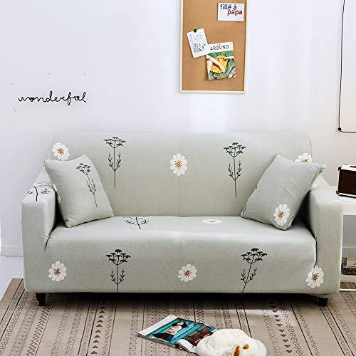 Fundas elásticas Funda de sofá elástica para Sala de Estar Funda de sofá seccional Funda de sillón en Forma de L A10 4 plazas