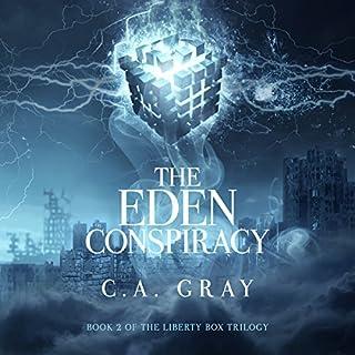 The Eden Conspiracy audiobook cover art