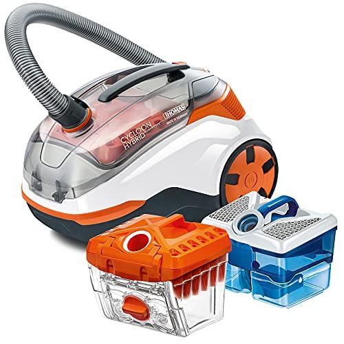 Thomas Cycloon Hybrid Pet & Friends - Mochila para Mascotas, Color Blanco y Naranja