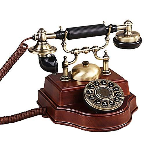 ZXL oude modieuze telefoonaansluiting telefoonkabel, Office Home vaste net 24.6 * 21cm