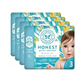 The Honest Company Baby Diapers with Trueabsorb Technology, Peace Out, Size 3, 108 Count