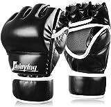 [page_title]-Xinluying Boxhandschuhe MMA Handschuhe Profi Boxsack Sandsack Kampfsport Training Leder 30mm Polsterung Herren Damen