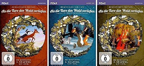 Als die Tiere den Wald verließen - Remastered Edition - Staffel 1 - 3 im Set - Deutsche Originalware [6 DVDs]