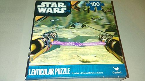 Kids Lenticular Star Wars - Puzzle de 100 piezas diseño 'Darth Vader'