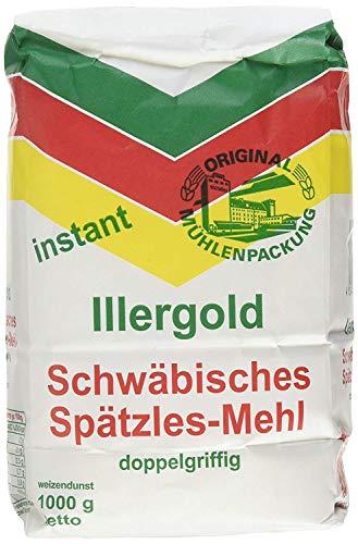 Illergold Schwäbisches Spätzle Mehl Instant, 1 kg