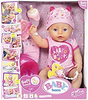 Baby Born New Soft Touch Girl Baby Doll