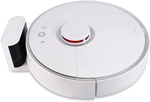 Roborock S50 Robot Vacuum Sweep-Mop Robotic Cleaner Wi-Fi Connected Laser Navigating Strong Suction For All Floor Types Australia Plug Version(White) product image