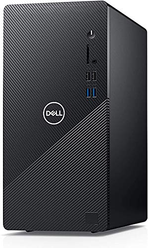 Dell Inspiron 3880 Business Desktop Computer_ Intel Quad-Core i3-10100 up to 4.3GHz (Beats I5-8400)_ 32GB DDR4_ 1TB PCIe SSD + 1TB HDD_ WiFi_ VGA_ HDMI_ Black_ Windows 10 Pro