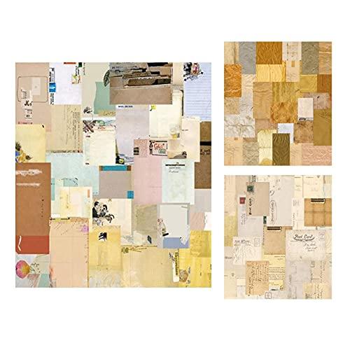 Ulapithi 180pcs Vintage Aufkleber Scrapbook DIY Handwerk und Scrapbooking Dekoration Material Papier Aufkleber Set für Tagebuch Album