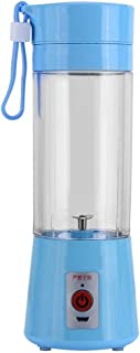 380ML Portable Rechargeable USB Juicer Fruit Juice Extractor Handheld Bottle Cup Blue
