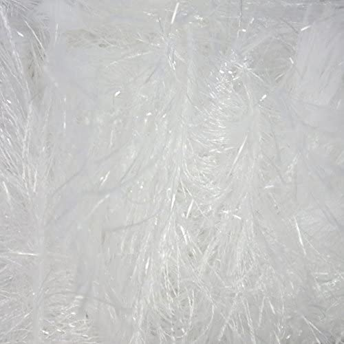 King Cole Tinsel Chunky Knitting Yarn Sparkle Eyelash Wool 1 x 50g White 204 product image