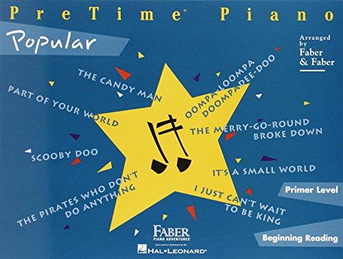 PreTime Piano Popular: Primer Level (Pretime Piano Series)