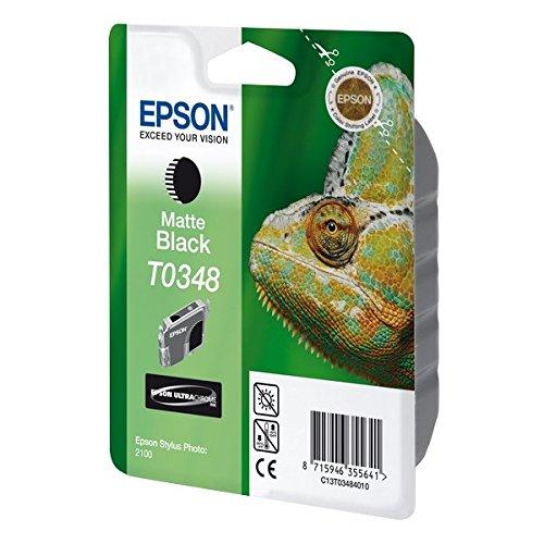 Epson T0348 Tintenpatrone Chamäleon, Singlepack, matt schwarz