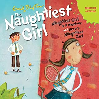'Naughtiest Girl Is a Monitor' and 'Here's the Naughtiest Girl' cover art