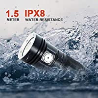 ThruNite TN4A LED Flashlight CREE XP-L V6 LED 1150 Lumen Waterproof AA LED Torch (Batteries not Included) NW 16