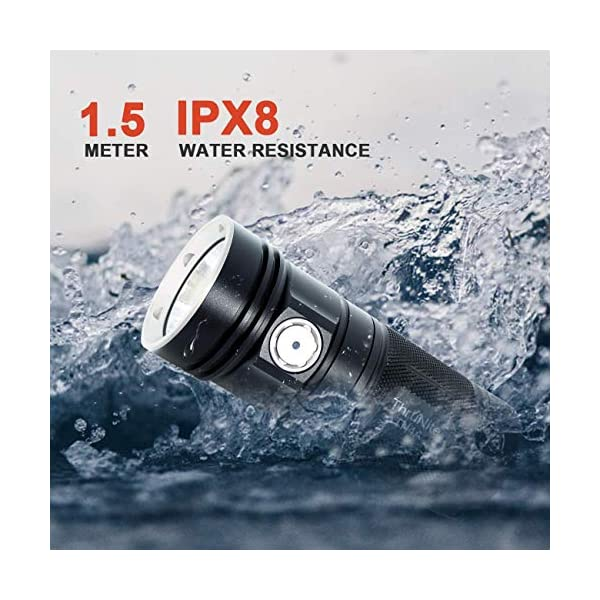 ThruNite TN4A LED Flashlight CREE XP-L V6 LED 1150 Lumen Waterproof AA LED Torch (Batteries not Included) NW 1