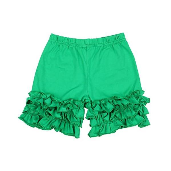 Slowera Baby Girls Cotton Ruffles Shorts Pants