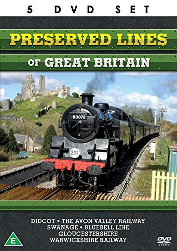 Preserved Lines Of Great Britain - The Complete Collection - 5 DVD...