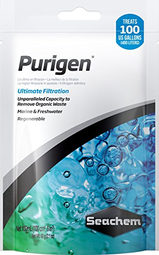 Seachem Purigen Organic Filtration Resin - Fresh and Saltwater 100 ml