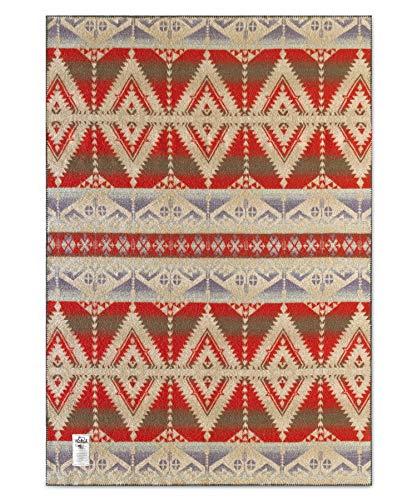 "Woolrich Home Roaring Branch Blanket, 50"" W x 70"" L, Red"
