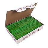 Jovi Caja de plastilina, 30 Pastillas 50 g, Color Verde Claro (7010), 350 gramos