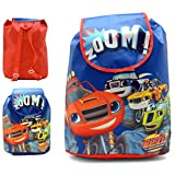 Blaze and the monster machines Mochila con Solapa Y Asas Blaze Mochila Infantil, 37 cm, Multicolor