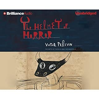 The Helmet of Horror     The Myth of Theseus and the Minotaur #4              By:                                                                                                                                 Victor Pelevin                               Narrated by:                                                                                                                                 full cast                      Length: 3 hrs and 23 mins     8 ratings     Overall 3.1