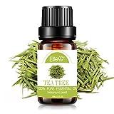 Elite99 Aceites Esenciales, Aceites de Aromaterapia de Árbol de Té, Aceites Esenciales para Humidificadores 100% Puros, 10ml (1)