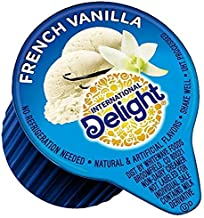 International Delight, French Vanilla, Single-Serve Coffee Creamers, 192 count (3 Packs EXPECT TO BE DELIGHTED