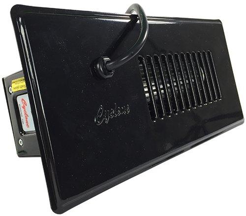 Tjernlund CBBL Register Booster Fan Steel Black, CM-300, CM-300B