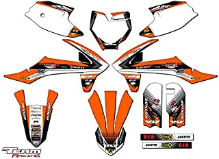 Team Racing Graphics kit compatible with KTM 2016-2018 SX 50, ANALOGComplete kit