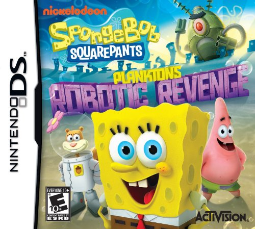 SpongeBob SquarePants: Plankton's Robotic Revenge - Nintendo DS by Activision