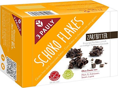 3 Pauly Schoko-Flakes - glutenfrei (1 x 145g)