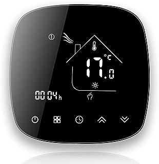 BecaSmart Series 001 Termostato Inteligente Wi-Fi Compatible con calefacción eléctrica táctil, Control de programación par...