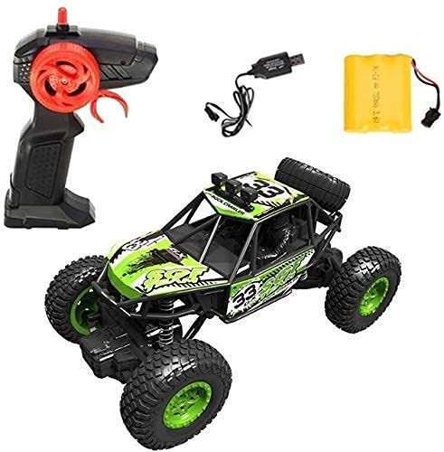 YIQIFEI Coche de Control Remoto a Escala 1:20 4x4 Big Foot Off Road Rally Stunt Climbing Drifting Vehicle Batería Recargable Professio (Inteligente)