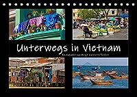 Unterwegs in Vietnam (Tischkalender 2022 DIN A5 quer): Bilder aus dem Alltag in Vietnam (Monatskalender, 14 Seiten )
