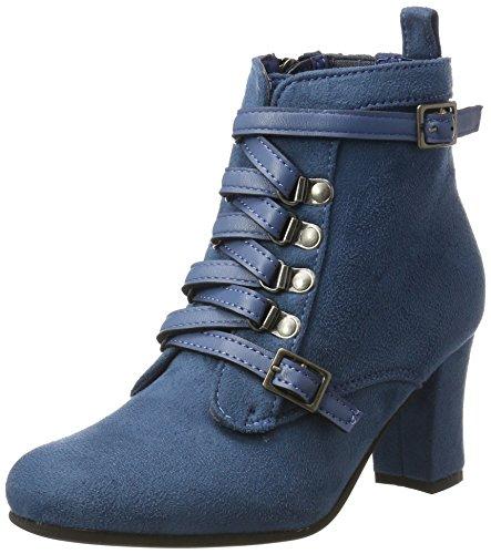 HIRSCHKOGEL Damen 3611506 Stiefel, Blau (Jeans 274), 35 EU