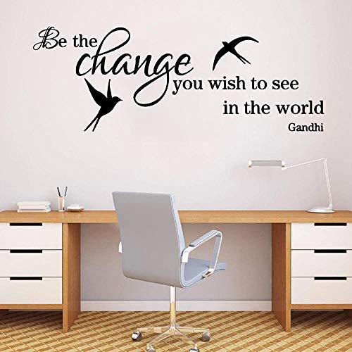 Papel pintado comercial del vinilo de las etiquetas engomadas de la pared del vinilo del arte de la oficina y de la habitación L 94x33cm