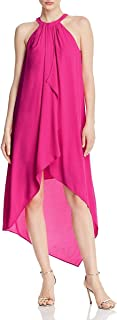 BCBG Max Azria Womens Ruffled Hi-Low Casual Dress