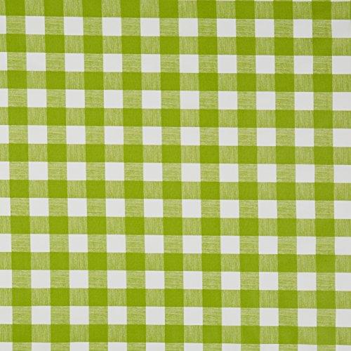 Vinylla Baumwoll-Tischdecke in Minzgrün, Vinylbeschichtung, einfach zu reinigen, 140 x 240 cm