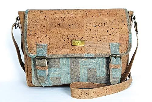 Bolso de corcho natural calidad Premium, elaborado de forma artesanal.