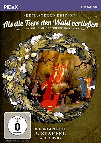 Als die Tiere den Wald verließen, Staffel 3 - Remastered Edition / Die komplette 3. Staffel der Kultserie nach dem gleichnamigen Roman von Colin Dann (Pidax Animation) [2 DVDs]