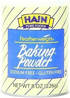 Hain Baking Powder, Gluten Free, Sodium Free, 8 oz by Hain