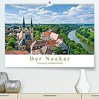 Der Neckar - Unterwegs in Deutschland (Premium, hochwertiger DIN A2 Wandkalender 2022, Kunstdruck in Hochglanz): Natur- und Kulturerbe Neckar (Monatskalender, 14 Seiten )