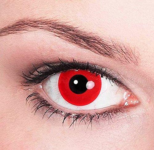 Motiv-Kontaktlinsen Satan (Teufel)